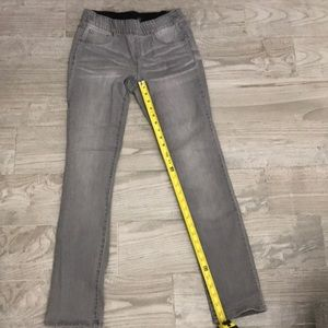 INC - grey distressed color jeggings